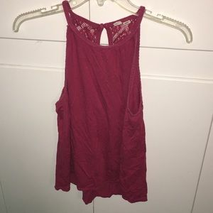 Roxy red tank top